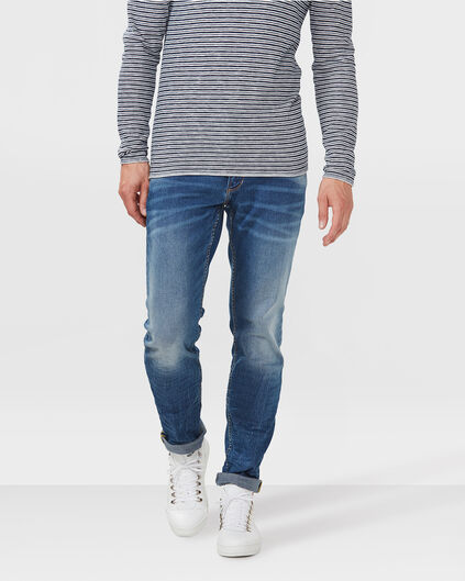 HEREN REGULAR STRAIGHT JEANS Blauw