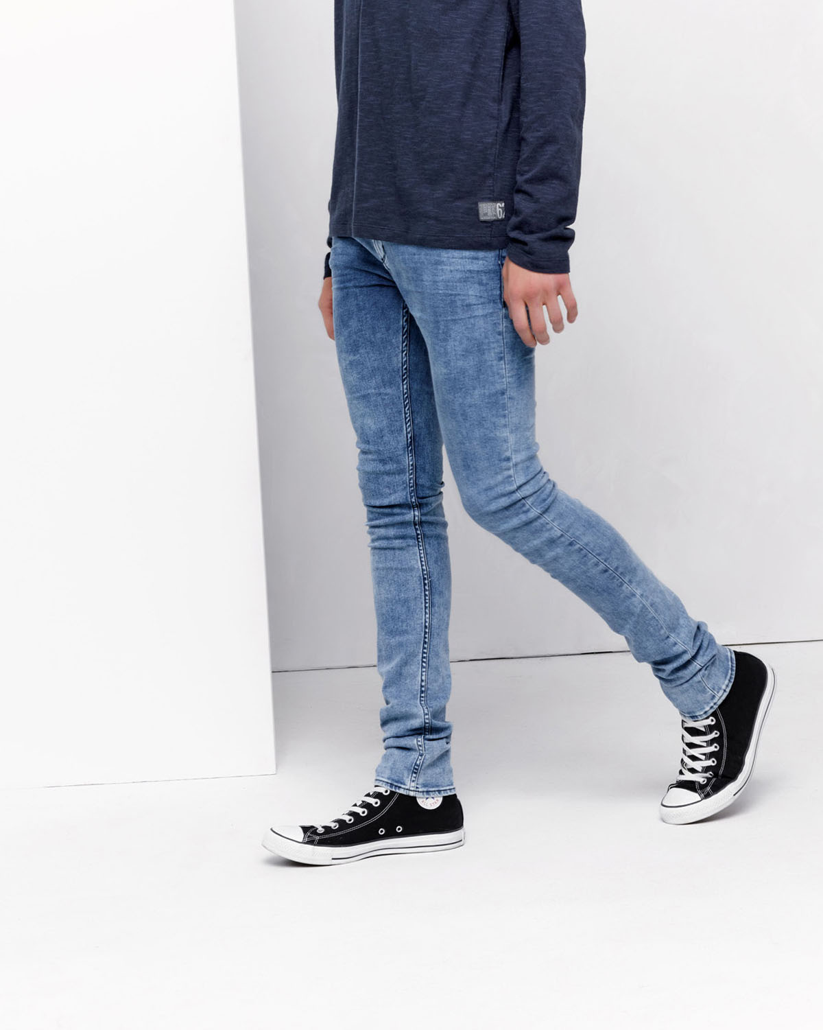 Heren Super Skinny Fit Jeans 78288355 We Fashion