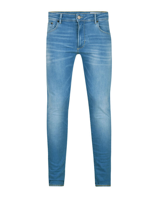 HEREN SUPER SKINNY SUPER STRETCH JEANS Blauw