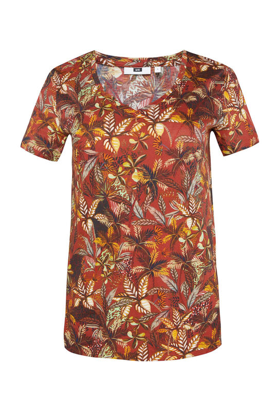 Dames T-shirt met dessin All-over print