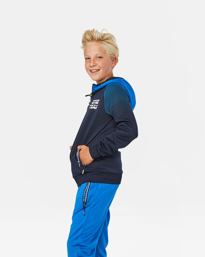 Jongens one team vest Blauw