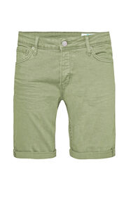 Heren denimshort_Heren denimshort, Groen