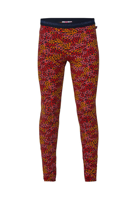 Meisjes legging met dessin All-over print