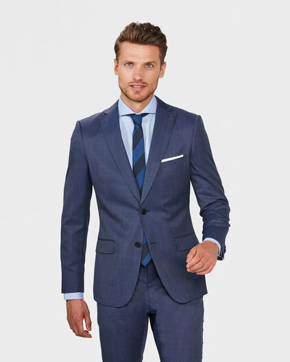 HEREN REGULAR FIT BLAZER DUDLEY Felblauw