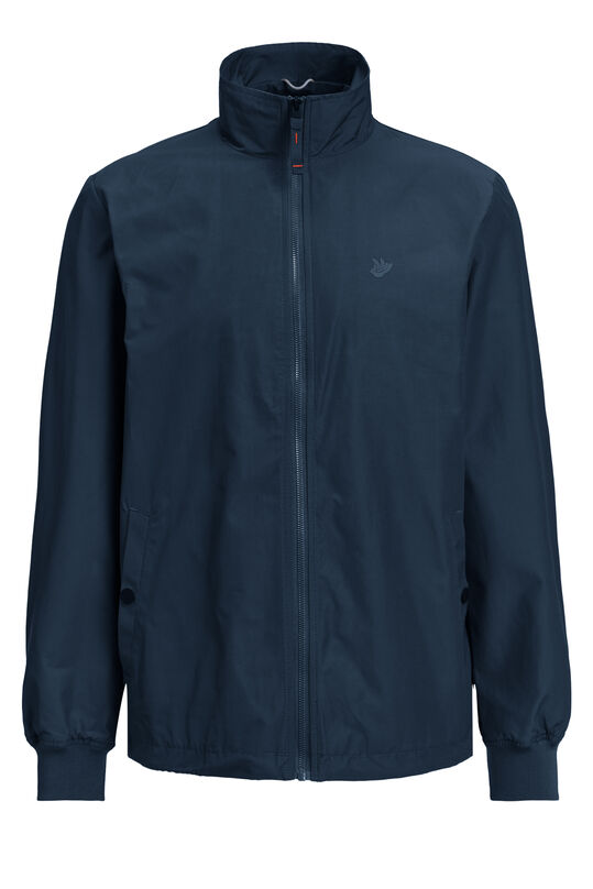 Heren slim fit Harrington jacket Donkerblauw