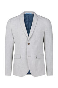 Heren slim fit blazer, Dali_Heren slim fit blazer, Dali, Lichtgrijs