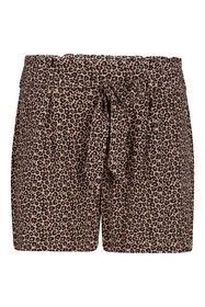 Dames high waist short_Dames high waist short, Bruin