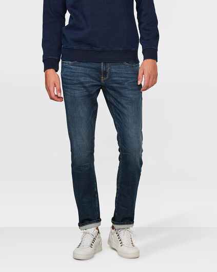 HEREN REGULAIR STRAIGHT JOG DENIM Blauw