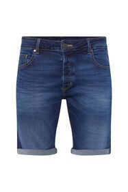 Heren denimshort_Heren denimshort, Blauw