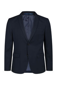 Heren regular fit blazer Dali_Heren regular fit blazer Dali, Marineblauw