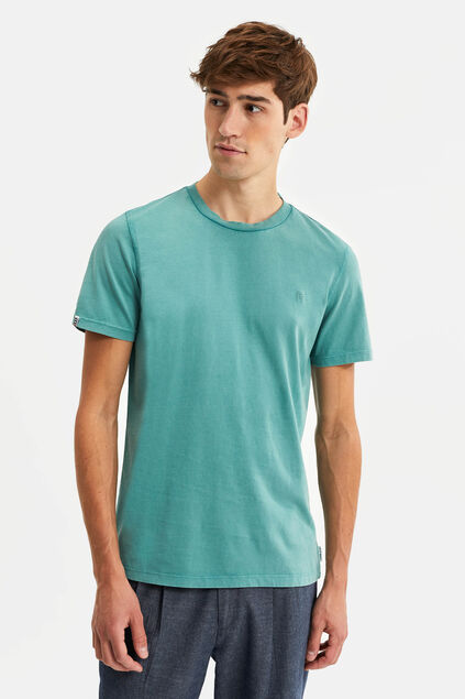 Heren Blue Ridge T-shirt Grijsgroen