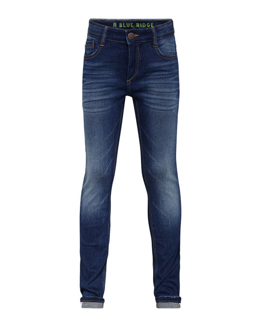Jongens super skinny super stretch denim jeans Blauw