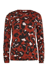 Dames sweater met panterdessin_Dames sweater met panterdessin, All-over print
