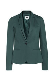 Dames regular fit blazer_Dames regular fit blazer, Donkergroen