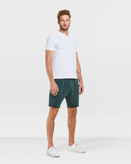 HEREN LOOSE FIT SWEATSHORT Mosgroen