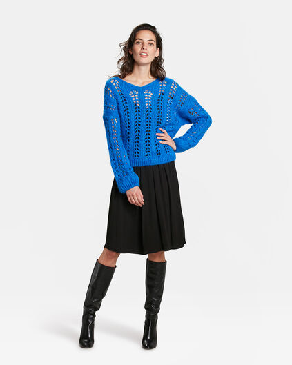 DAMES SPORTY STRIPE ROK Zwart