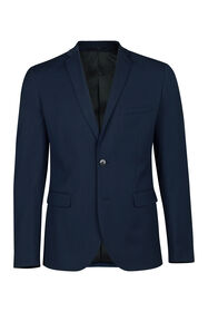 Heren slim fit blazer Dali_Heren slim fit blazer Dali, Donkerblauw