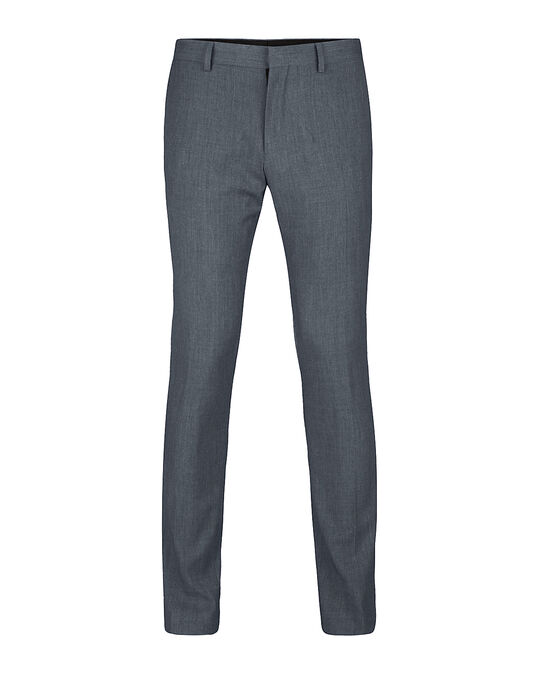 Heren slim fit pantalon, Dali Grijs