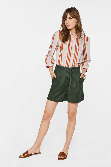 Dames high waist short Groen