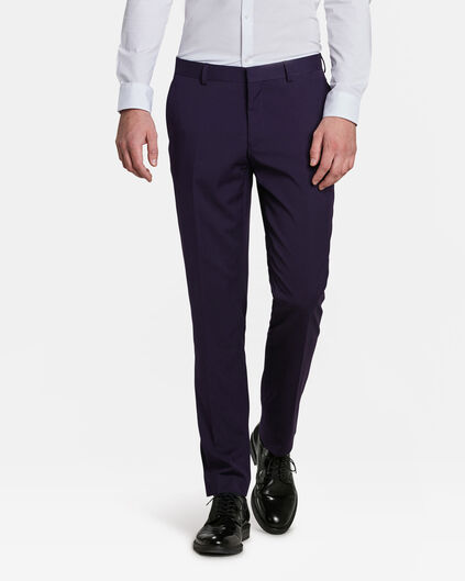 HEREN SLIM FIT PANTALON DALI Paars