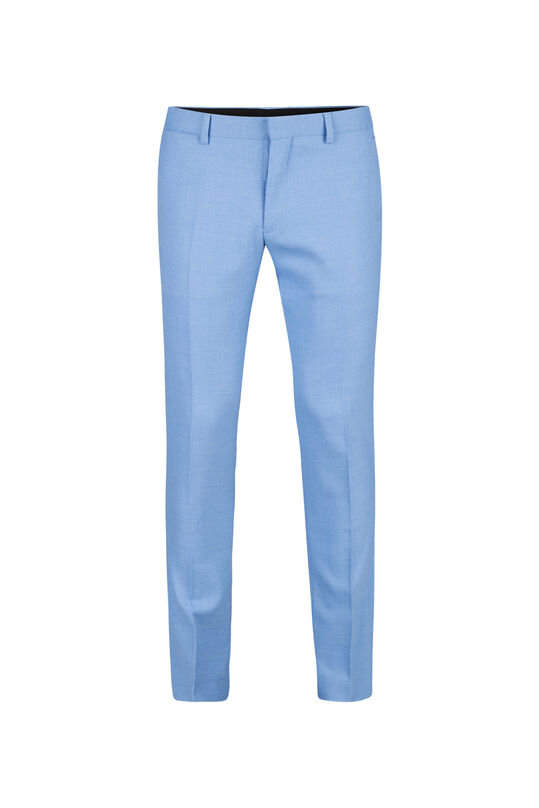 Heren slim fit pantalon Dunes Blauw