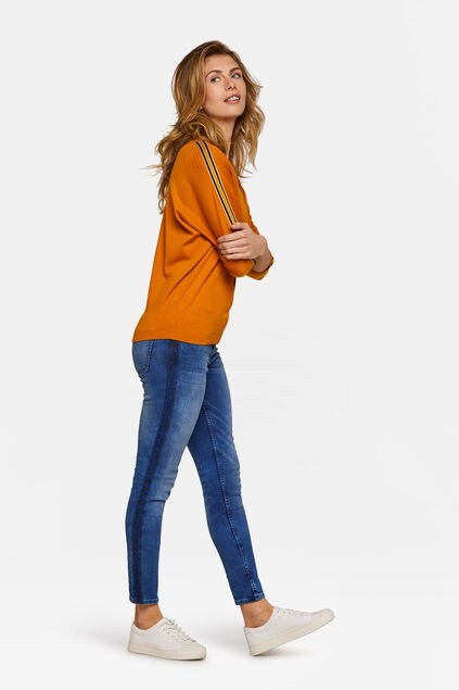 Dames superskinny super stretch jeans Blauw