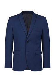 Heren regular fit blazer, Dali_Heren regular fit blazer, Dali, Kobaltblauw
