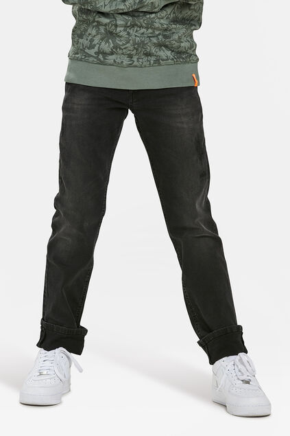 JONGENS REGULAR FIT SUPERSTRETCH JEANS Donkergrijs