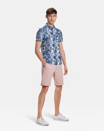 HEREN SLIM FIT CHINO SHORT Zalmroze