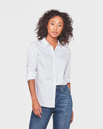 DAMES STRETCH BLOUSE Wit