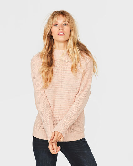 DAMES HEAVY KNIT COLTRUI Zalmroze