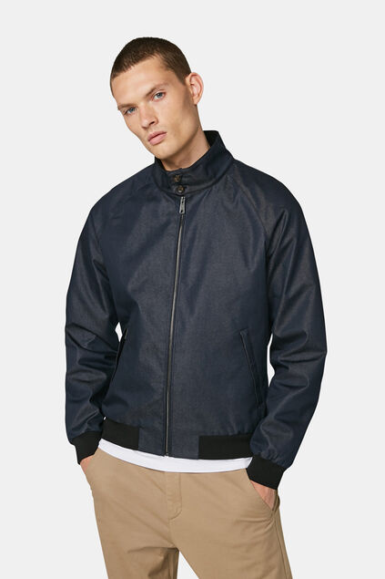 Heren Blue Ridge bomberjacket Indigo
