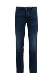 Heren slim fit super stretch jeans_Heren slim fit super stretch jeans, Donkerblauw