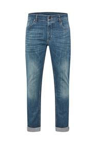 Heren slim fit jeans met super stretch_Heren slim fit jeans met super stretch, Blauw