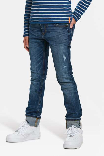 JONGENS SKINNY FIT SUPERSTRETCH JEANS Blauw