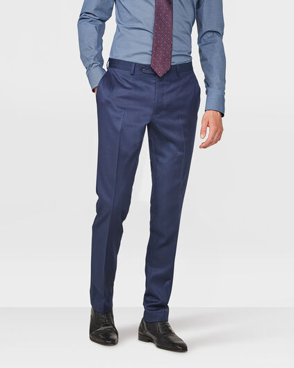 HEREN SLIM FIT PANTALON DAYTON Donkerblauw