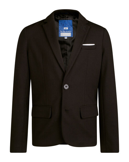 JONGENS REGULAR FIT KOSTUUM BLAZER Zwart
