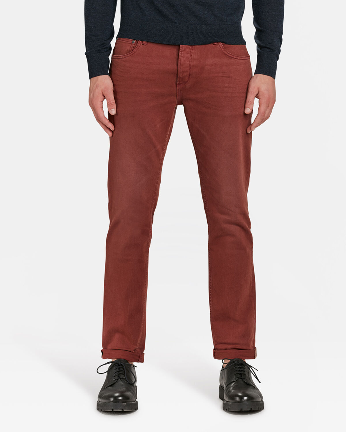 HEREN SLIM TAPERED BROEK | 81567911 WE Fashion
