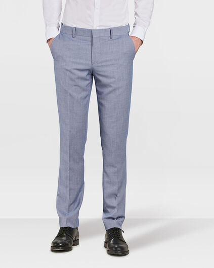 HEREN SLIM FIT PANTALON CARTER Marineblauw