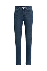 Dames high rise skinny jeans met comfort stretch_Dames high rise skinny jeans met comfort stretch, Blauw