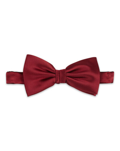 HEREN SOLID BOW TIE Donkerrood