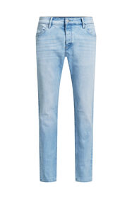 Heren slim fit jeans met super stretch_Heren slim fit jeans met super stretch, Lichtblauw