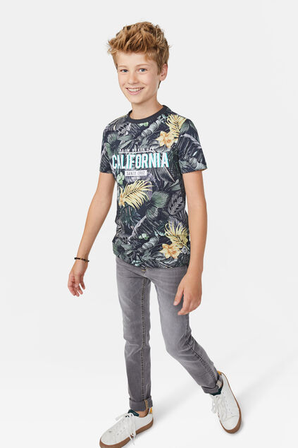 Jongens California T-shirt Multikleur