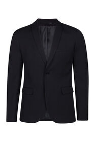 Heren slim fit blazer, Dali_Heren slim fit blazer, Dali, Zwart