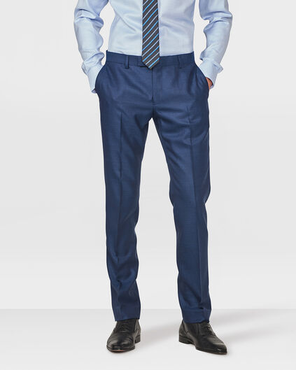 HEREN SLIM FIT PANTALON TURINO Donkerblauw