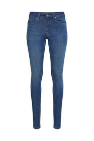 Dames super skinny shaping jeans_Dames super skinny shaping jeans, Blauw