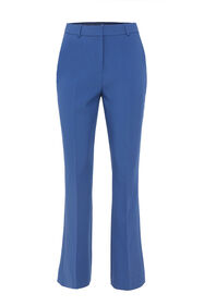 Dames pantalon met high-waist_Dames pantalon met high-waist, Blauw