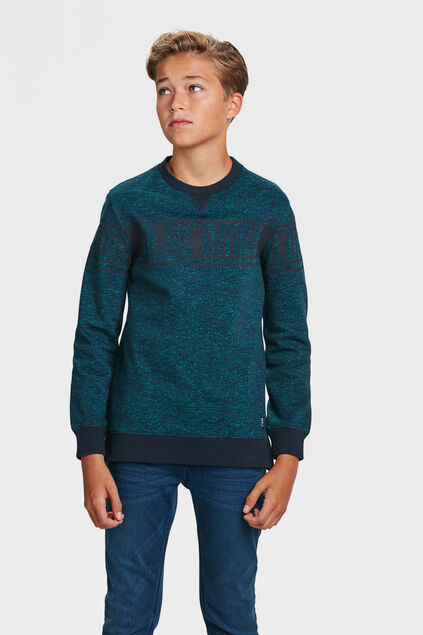 JONGENS BLUE RIDGE SWEATER Petrol