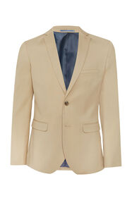 Heren slim fit blazer, Dali_Heren slim fit blazer, Dali, Beige
