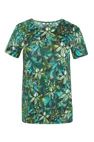 Dames T-shirt met dessin_Dames T-shirt met dessin, All-over print